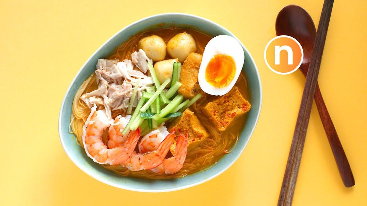 Nyonya Laksa | Laksa Lemak | Malaysian Curry Noodles with Coconut Milk ...
