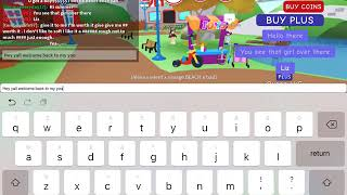 Playing with my cra cra friend XD (ROBLOX)