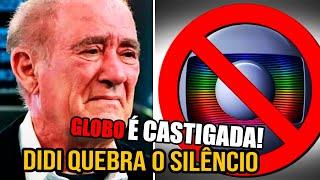 Demissão de Renato Aragão faz globo levar duro castigo do humorista