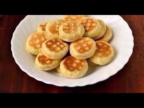 печенье в формовой сковороде рецепт с фото