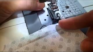 Rullesøm på symaskine