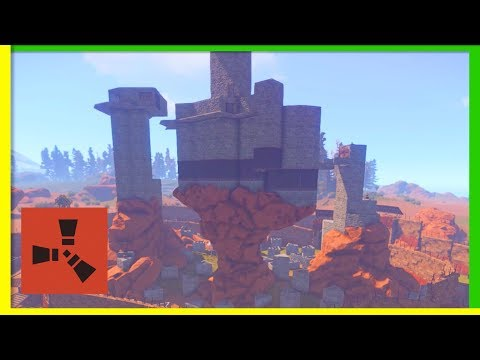 Rust Raids: VANILLA | FLOATING ARMORED BASE