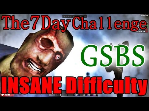 how to survive insane difficulty 7 days to die