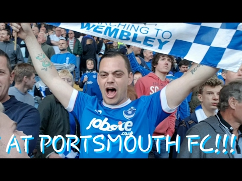 DAY AT PORTSMOUTH FC!!!