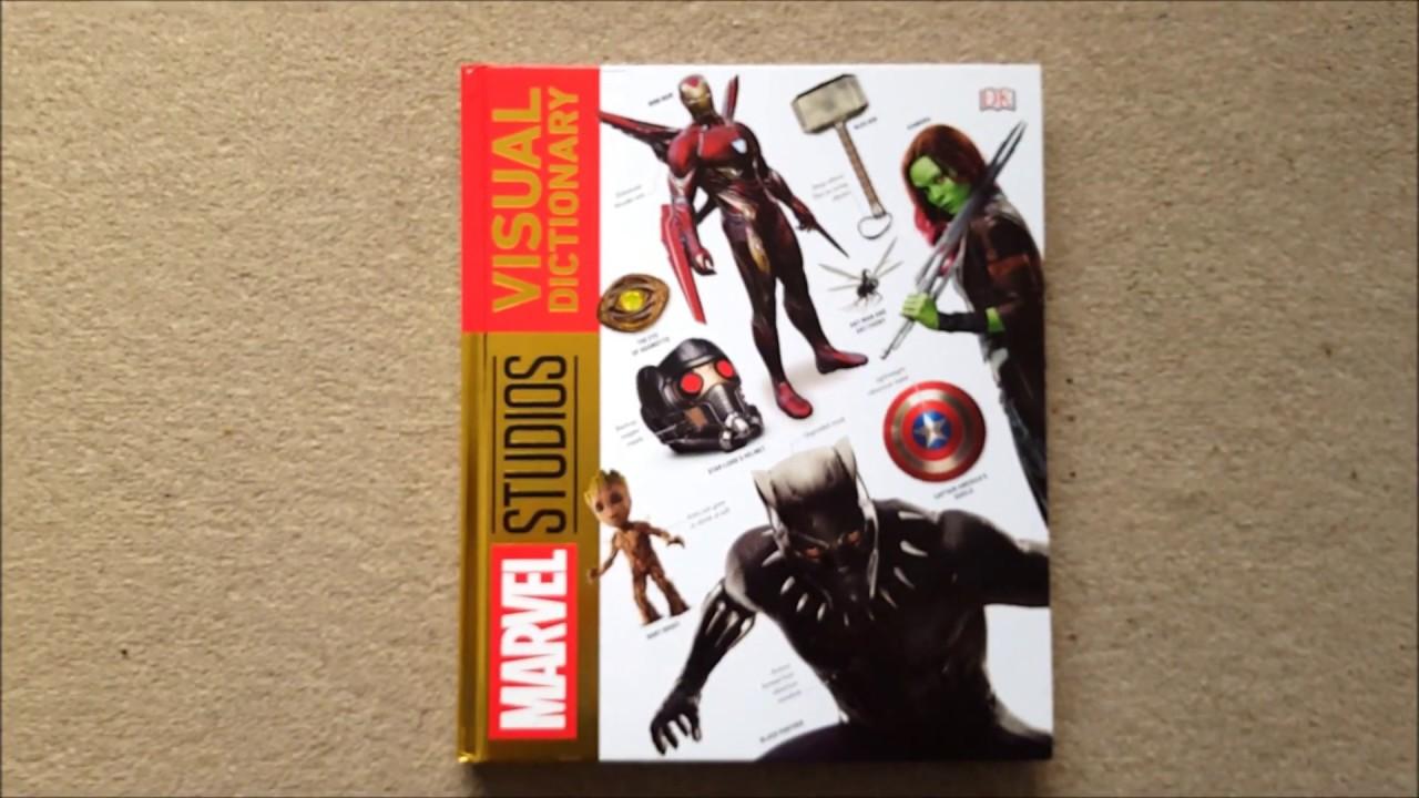 Marvel Visual Dictionary DK Book