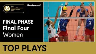 Top 5 Plays   Final Phase - #EuroLeagueW