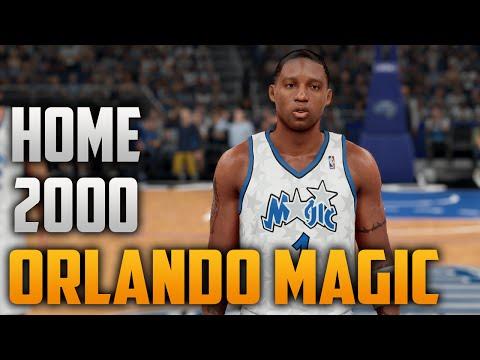 newest collection 20a93 f8d4a NBA 2K16 2000 Orlando Magic (Tracy McGrady Era) (Home ...