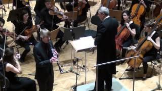 Carl Maria von Weber: Koncert za klarinet in orkester št.1 v f- molu Allegro
