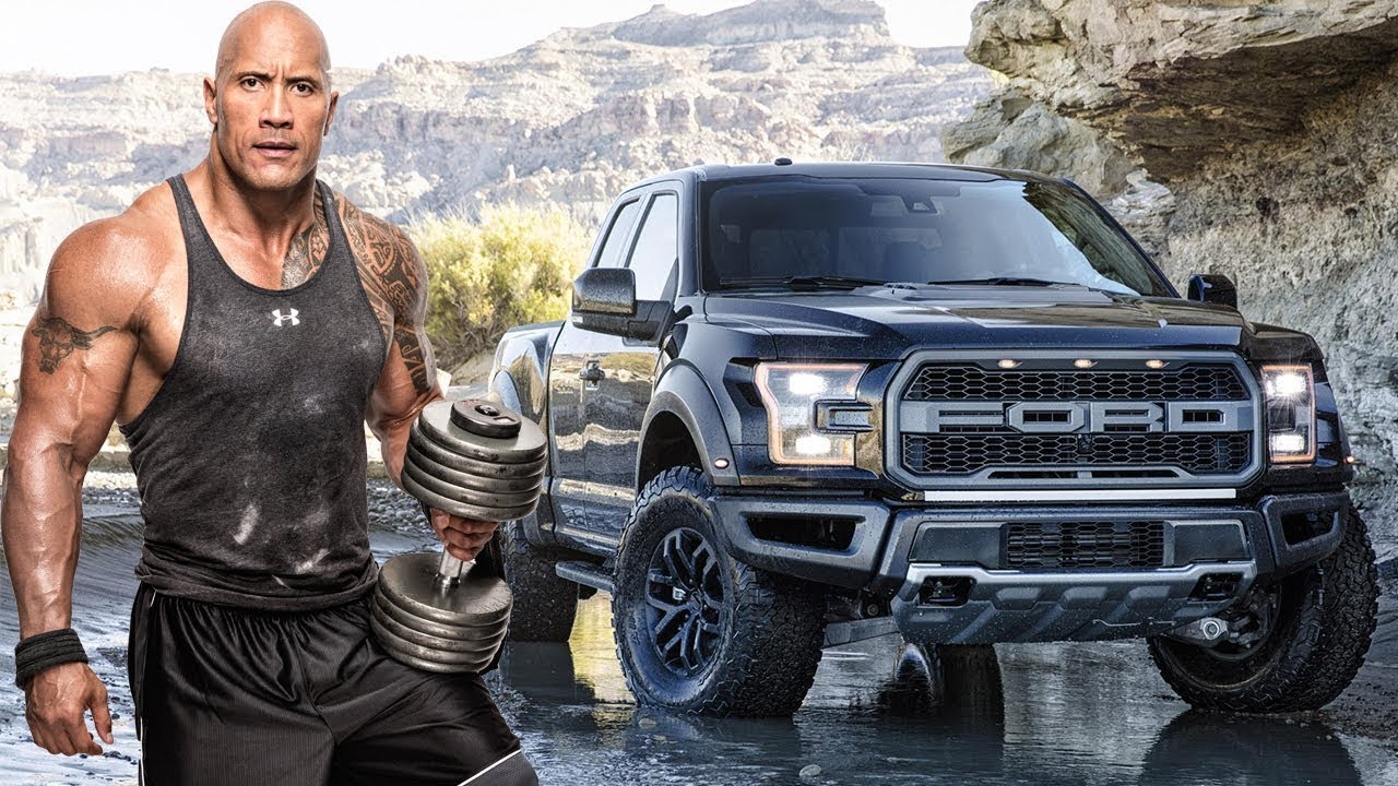 Dwayne The Rock Johnson Cars Collection 2018