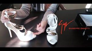 видео Купить женские туфли Giuseppe Zanotti с доставкой от производителя. Туфли  Giuseppe Zanotti по выгодным ценам.