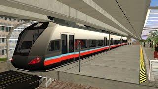 Suspended Monorail/Monorel Gantung Indonesia [Trainz Simulator]