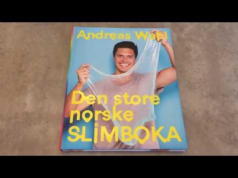 Vinn Den Store Norske Slimboka(spons) Og Jeg Lager Fluffy Slim