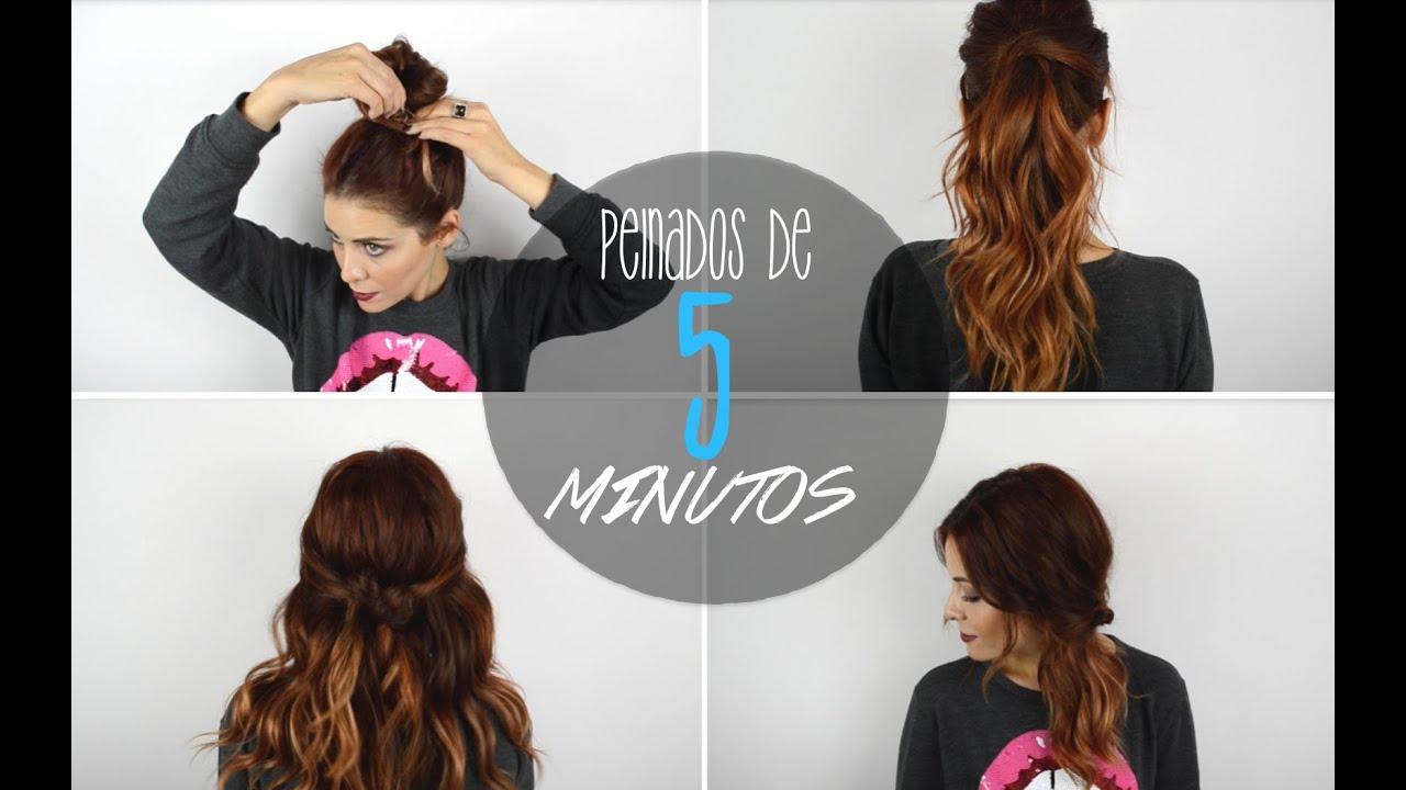 Miss cucu peinados rapidos de 5 minutos sin trenzas - Peinados faciles y rapidos paso a paso ...