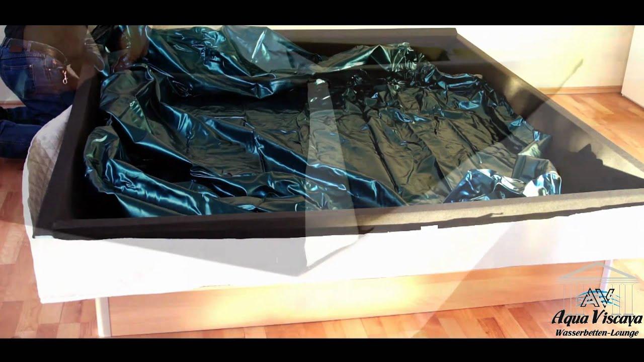 wasserbetten aufbauvideo aqua viscaya m m. Black Bedroom Furniture Sets. Home Design Ideas