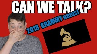 REACTIONS TO THE 2018 GRAMMY NOMINATIONS | CAN WE TALK 43