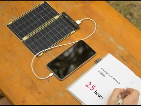 The Best  Solar Paper for your Phone (Review)