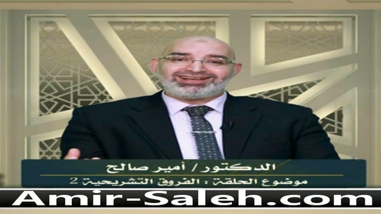 الفروق التشريحية بين الذكر والأنثى (2) | الدكتور أمير صالح | برنامج وليس الذكر كالأنثى