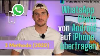 WhatsApp Chats von ANDROID auf IPHONE übertragen: 3 Methode (2020)