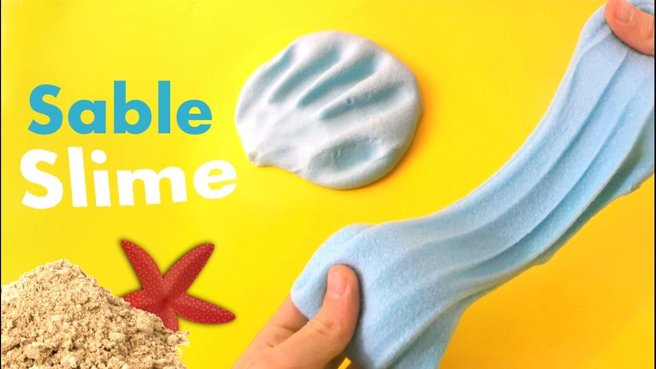 comment faire du sable slime diy slime tuto slime gloopy slime youtube. Black Bedroom Furniture Sets. Home Design Ideas