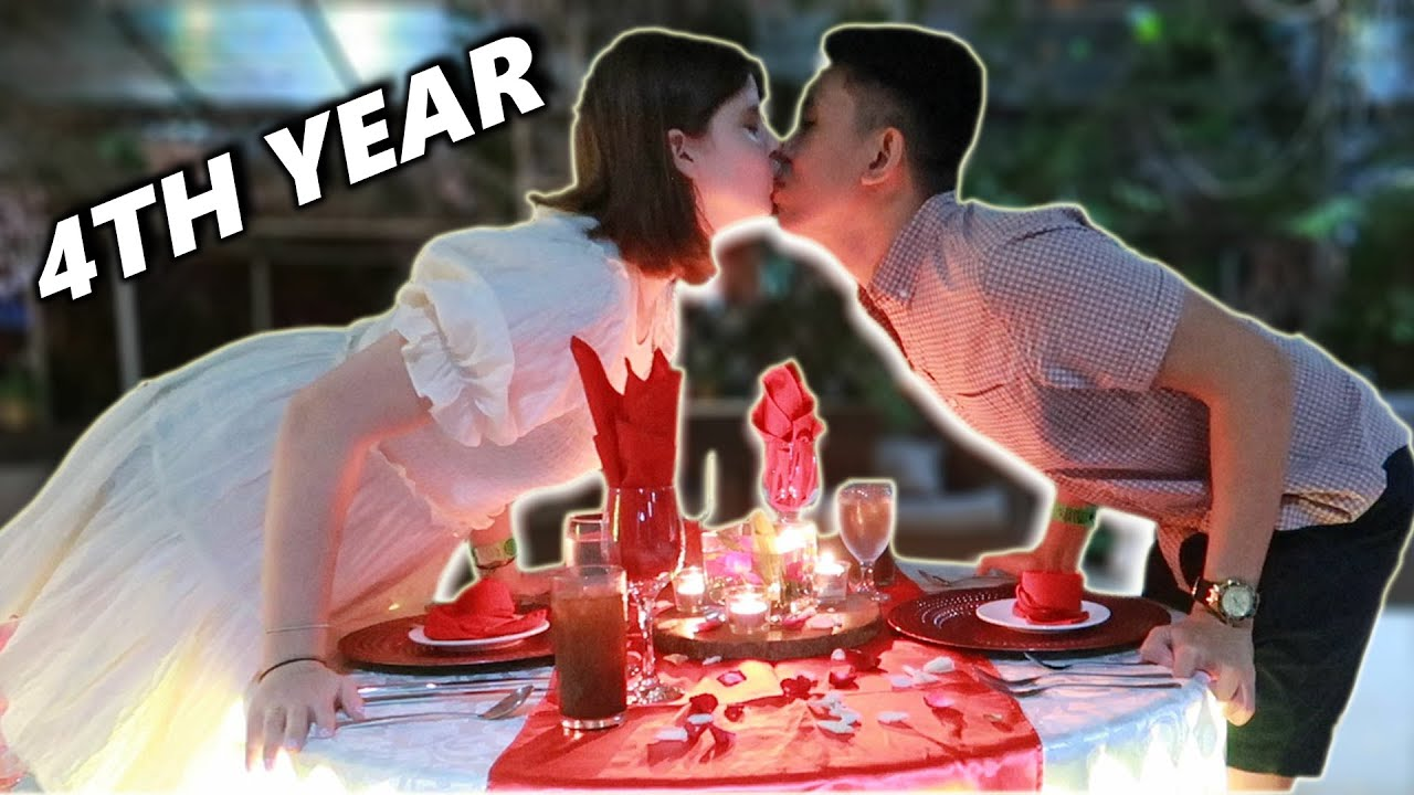 2 years LDR 2 years TOGETHER 4 YEARS LOVE   HAPPY 4TH YEAR ANNIVERSARY  