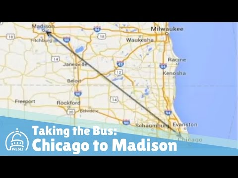 Taking The Bus From Chicago To Madison