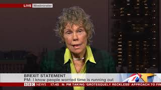 Kate Hoey MP's Interview on BBC News