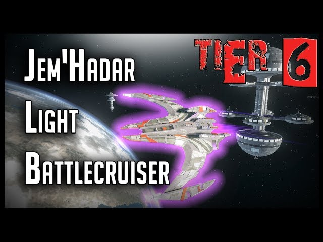 JemHadar Light Battlecruiser [T6] – with all ship visuals – Star Trek Online