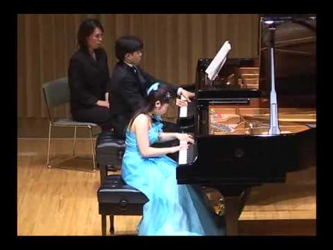 1.Rachmaninoff  piano Concerto No.2  1st mov.-1  two pianos ver.   2005/april (18 years old)