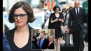 Weinstein accuser Melissa Thompson meets with prosecutors in New York
