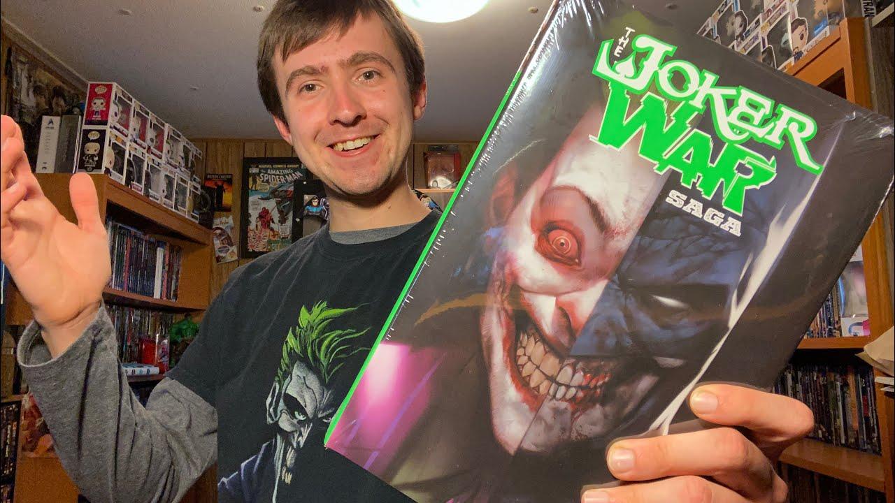 Download Batman The Joker War Saga Hardcover Unboxing