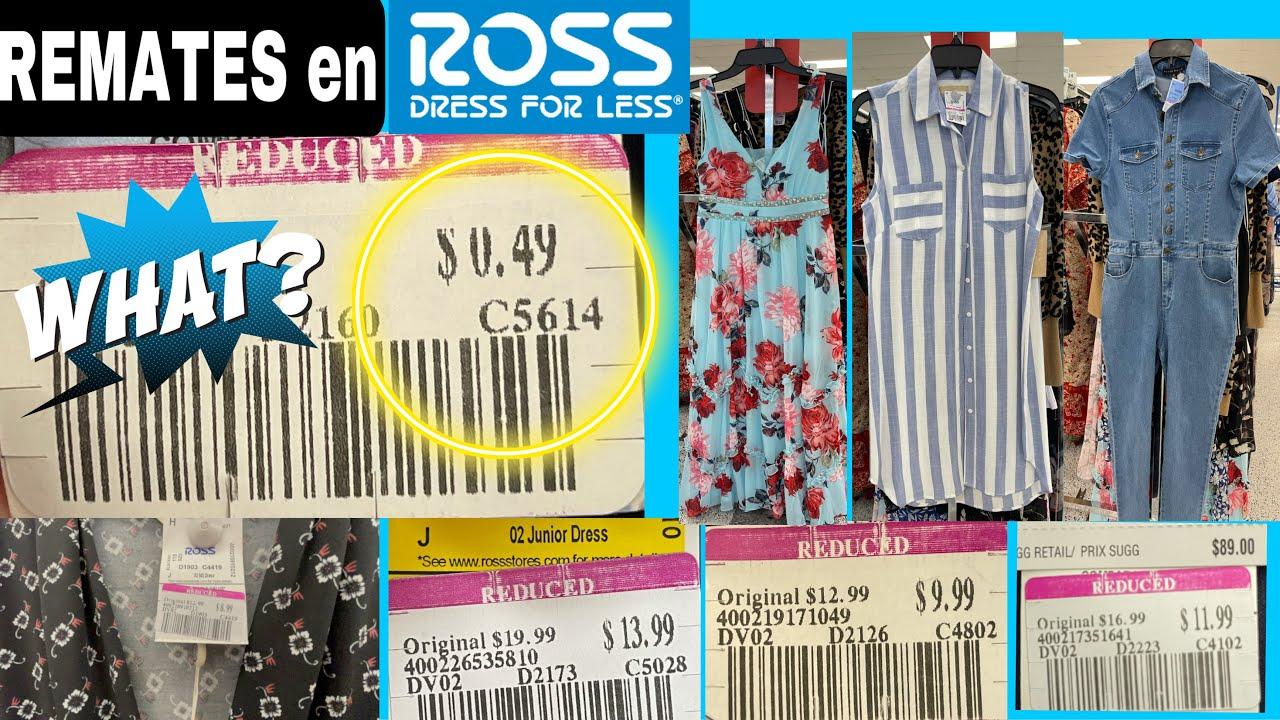 INCREÍBLE😱ROSS REMATA Vestidos, Rompers, Jumpsuits y MAS de marca desde .49 Centavos😱