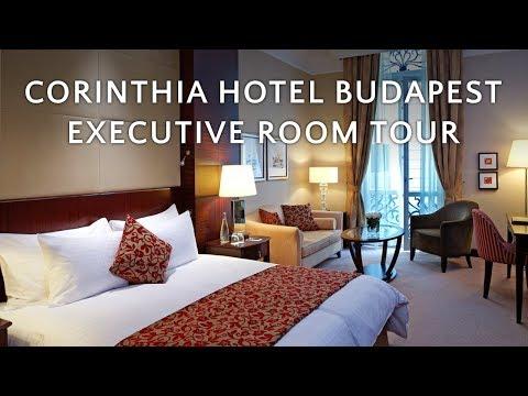 🇭🇺 Corinthia Hotel Budapest: Executive Room tour (4K)