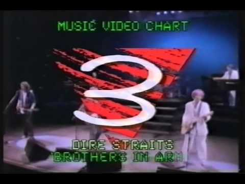 The Chart Show - Music Video Chart (22nd August 1986)
