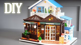 DIY Miniature Dollhouse Kit || Sweet Coffee - Miniature Land