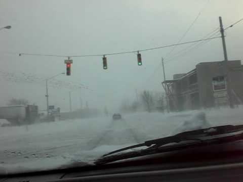 Winter Roads In Grand Rapids, MI