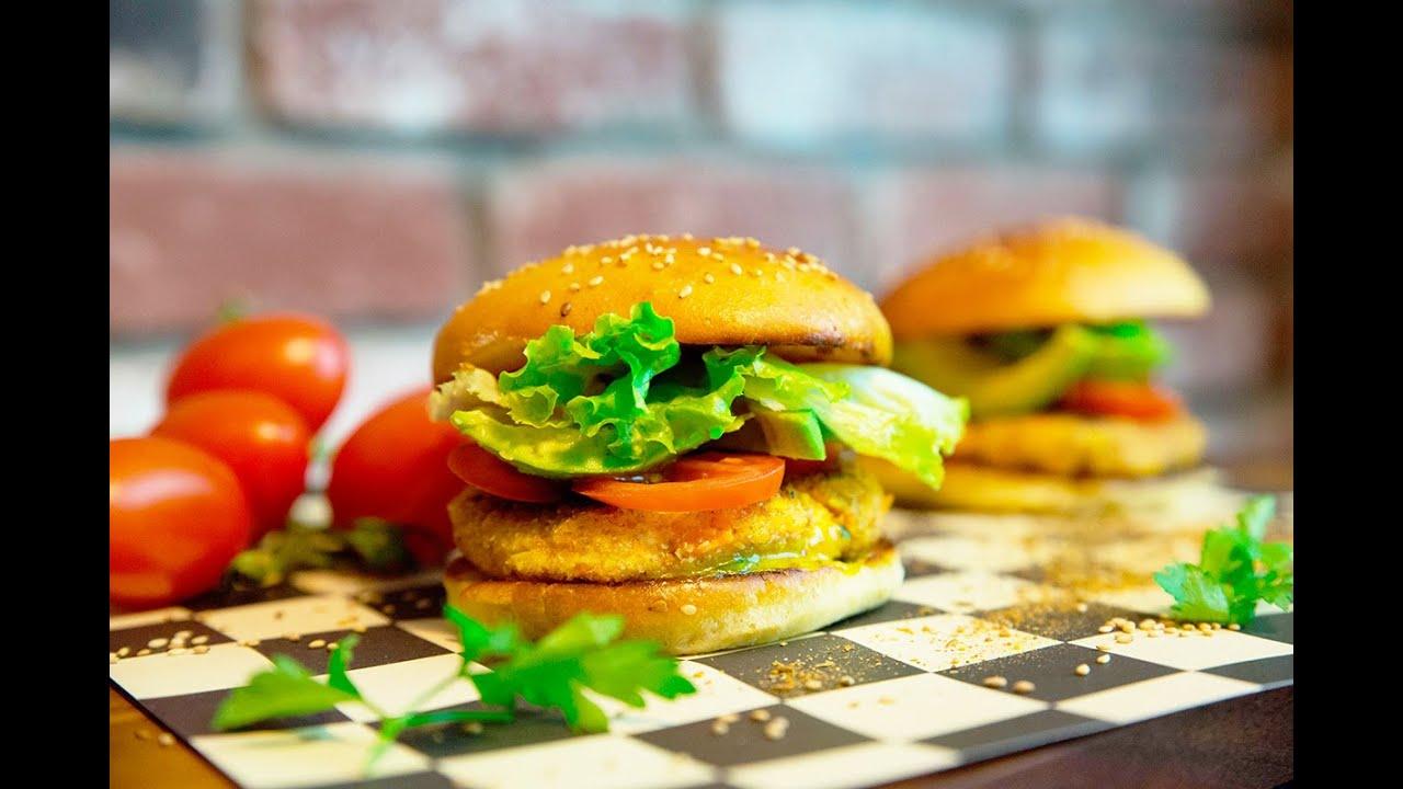 Recette du chicken burger maison trop bon youtube - Herve cuisine hamburger ...