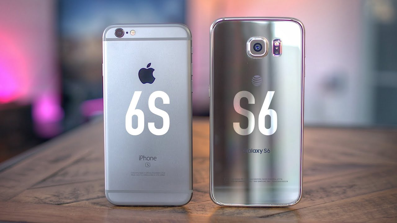 Apple iPhone 6s vs Samsung Galaxy S6! - YouTube