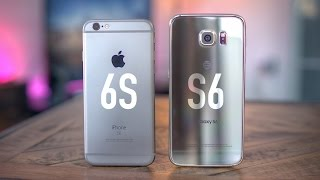 One of Jonathan Morrison's most viewed videos: Apple iPhone 6s vs Samsung Galaxy S6!