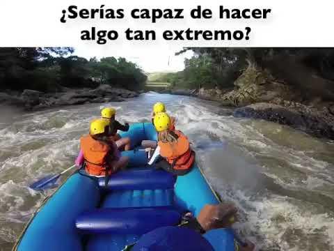 Rafting en el río FONCE, San Gil, Santander