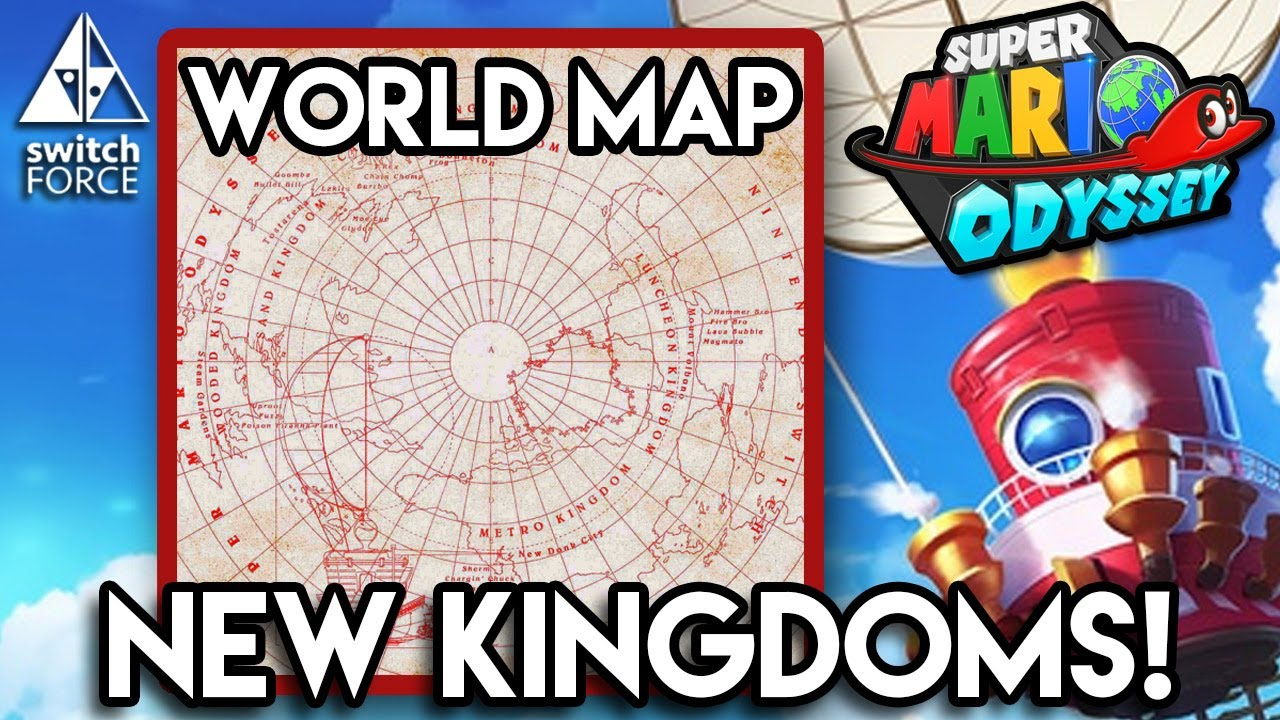 Super mario odyssey all kingdoms analysis new kingdoms world map super mario odyssey all kingdoms analysis new kingdoms world map gumiabroncs Image collections