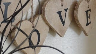 Create A Love Heart Sign From MDF Board - Diy Home - Guidecentral