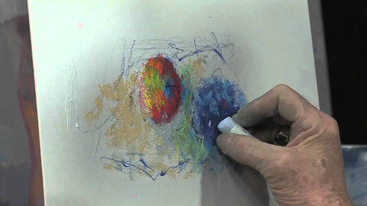 How To Build Up A Still Life Using Mungyo Soft Pastels