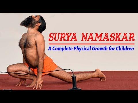 Surya Namaskar: A Complete Physical Growth for Children   Swami Ramdev