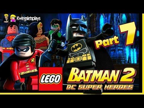 Lego Batman 2 - Walkthrough Wii U Part 7 Batmobile Vs Lexcorp Juggernaut