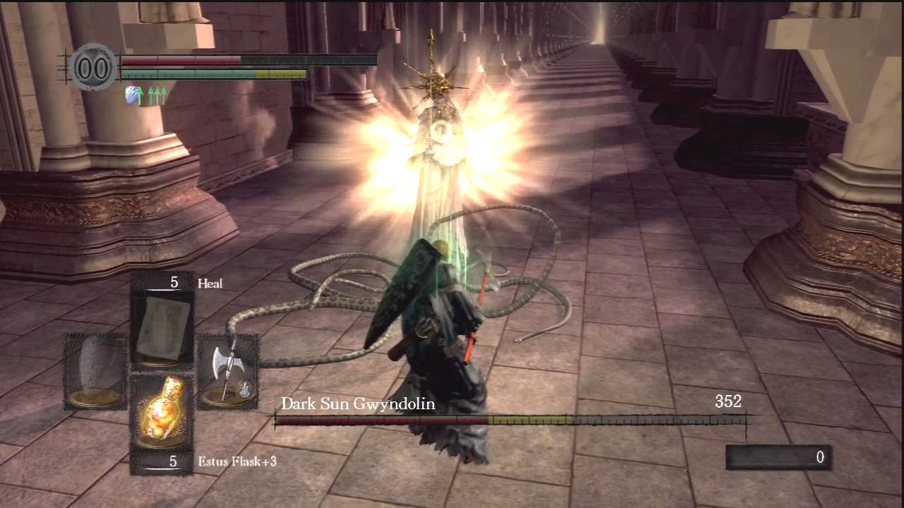 Dark Souls  Dark Sun Gwyndolin Boss Fight Strategy  YouTube