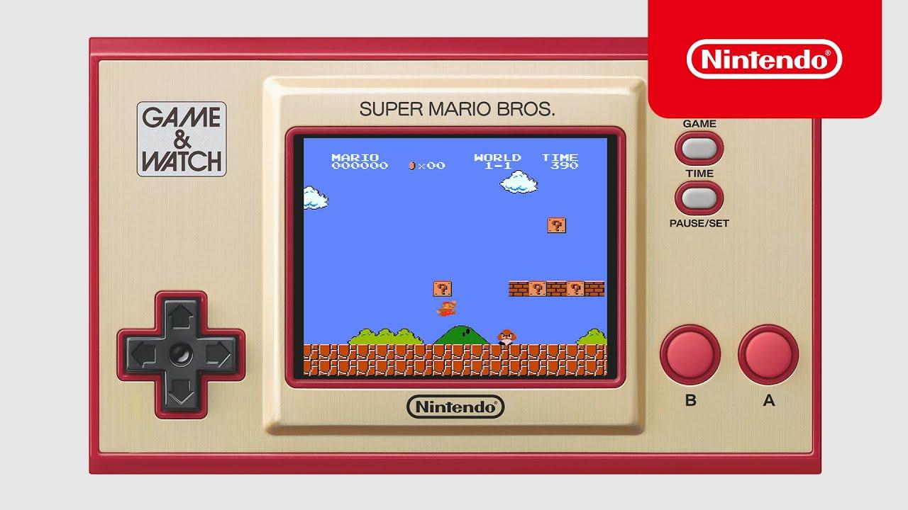 Υπενθύμιση: το Super Mario Bros Game & Watch είναι διαθέσιμο για περιορισμένο χρόνο.