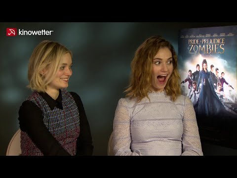 Lily James & Bella Heathcote PRIDE AND PREJUDICE AND ZOMBIES