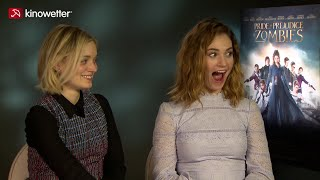 Interview Lily James & Bella Heathcote PRIDE AND PREJUDICE AND ZOMBIES