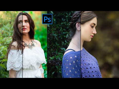 How To Change Background Color .Autumn color effect | Photoshop tutorial | Soft light look. thumbnail