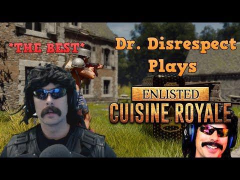DRDISRESPECT PLAYS *NEW* CUISINE ROYALE (Battle Royale)